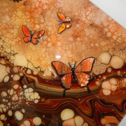 Autumn Coloured Butterfly Picture Detail
