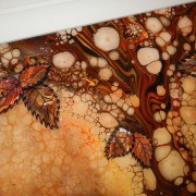 Autumn Coloured Butterfly Picture Detail 3