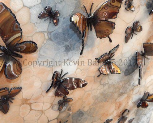 Brown butterfly art 2