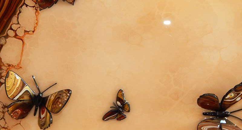 autumn coloured butterflies