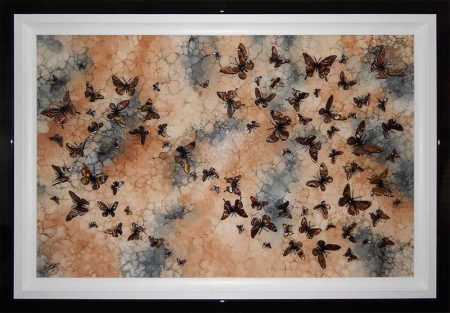 autumn swarm framed