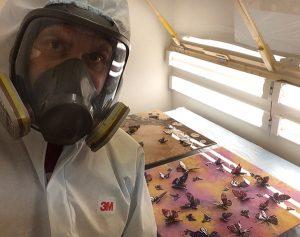 Breaking Bad Lab Setup for Resin