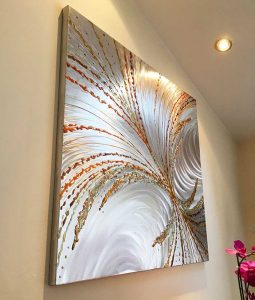 Holographic Metal Wall Art