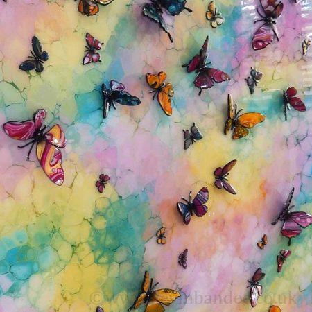 multicolour butterflies