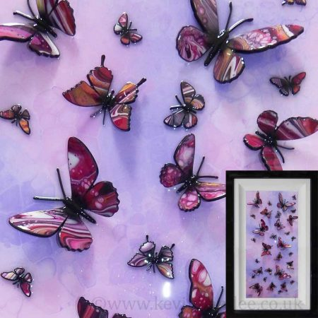 pink purple multi butterfly tall gallery