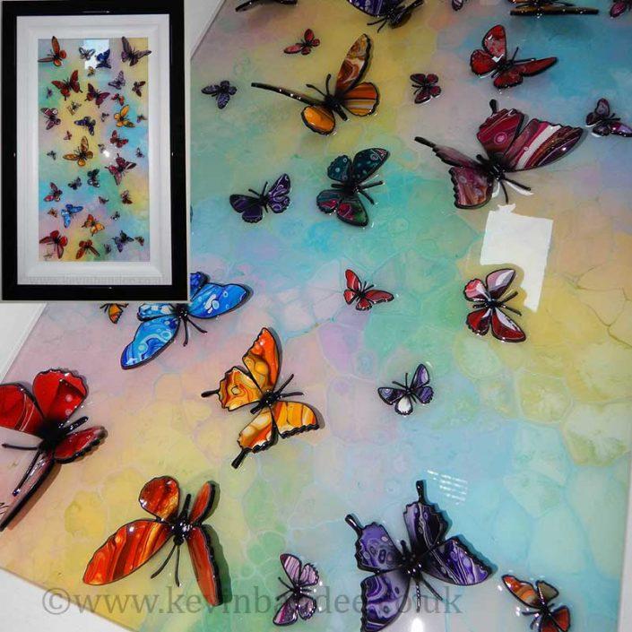 multicolour 3d butterfly art gallery