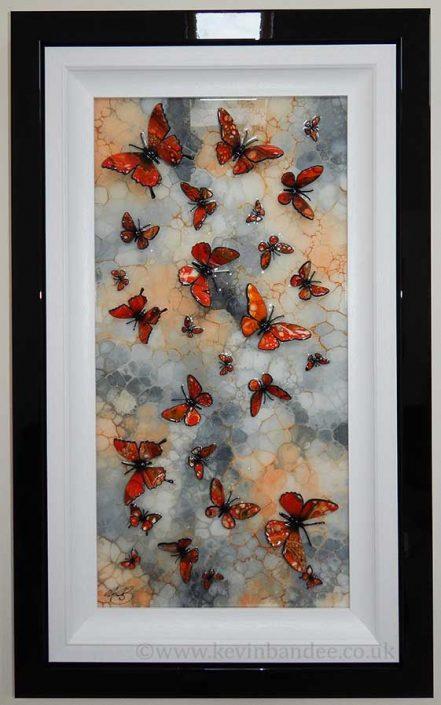 orange stone butterfly art gallery