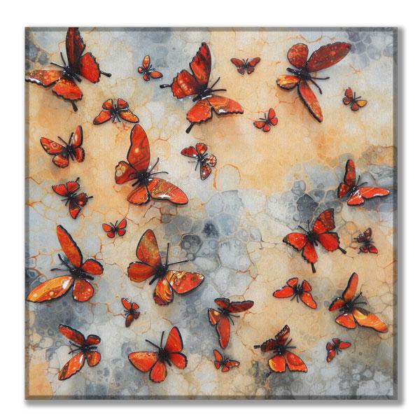 canvas orange multi