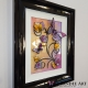 yellow lilac 3d butterfly art side view 1